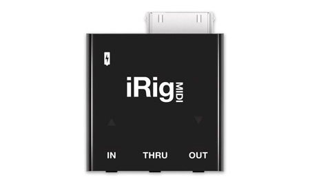 IK Multimedia iRig MIDI Core MIDI Interface for iPhone/iPod/iPad