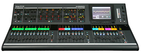 Allen & Heath iLive-T112 16x12 28 Fader Control Surface