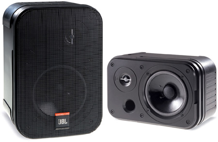 JBL C1 PRO 2-Way 150-Watt Personal Monitor Black - Pair