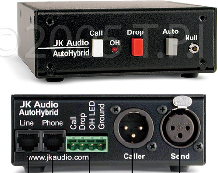Auto Hybrid Telephone Audio Interface