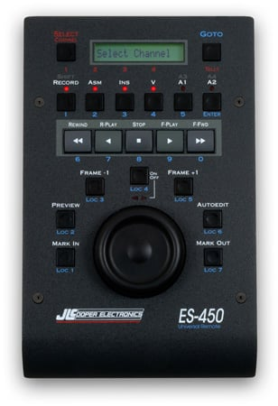 JLCooper ES-450 SP2 RS-422 Dual Channel Jog/Shuttle Remote