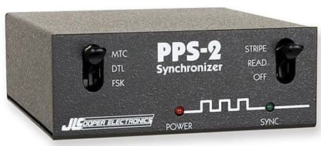 JL Cooper PPS2 Time Code Generator / Synchoronizer Includes Plus Option