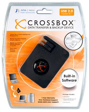 Crossbox USB File Transfer Device