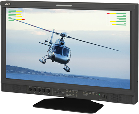 JVC 21-Inch Verite G Series Multi-Format LED Monitor