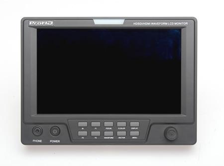 JVC DT-X71F 7 Inch LCD AC/DC HDMI HD-HDSDI Waveform Audio Meter LCD Monitor