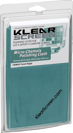 Klear Screen KS-MCK Micro-Chamois Polishing Cloth Single