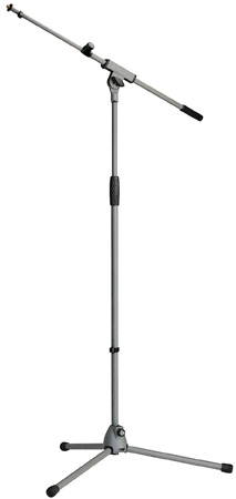 K&M 21080N Chrome Mic Stand