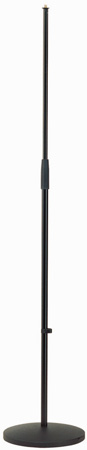 K&M 260/1 Cast-Iron Mic Stand w/Anti-Vibration Rubber Insert Black