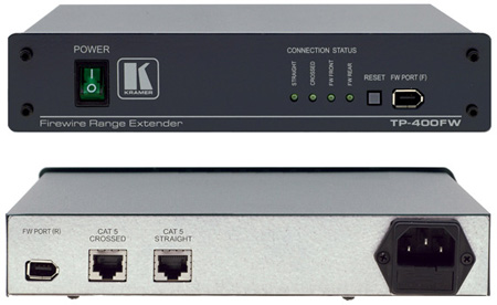 Kramer TP-400FW FireWire over Twisted Pair Range Extender