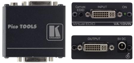 Kramer VA-1DVIN DVI EDID Emulator