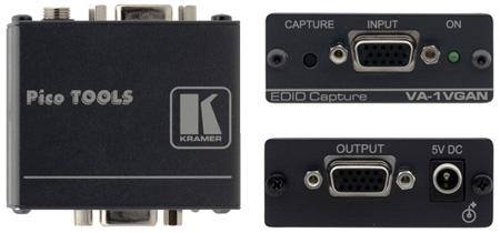 Kramer VA-1VGAN Computer Graphics Video EDID Emulator