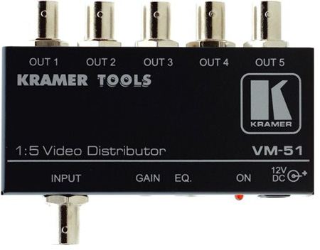 Kramer VM-51 1:5 Video Distribution Amplifier