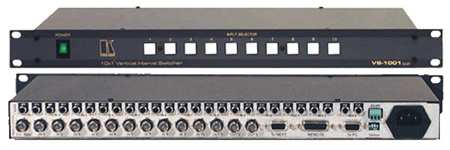 Kramer VS-601XLM 6x1:3 Composite Video & Stereo Audio Switcher