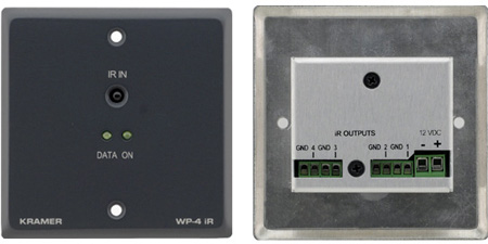 Kramer WP-4iR Infra-Red Repeater for up to 8 IR devices