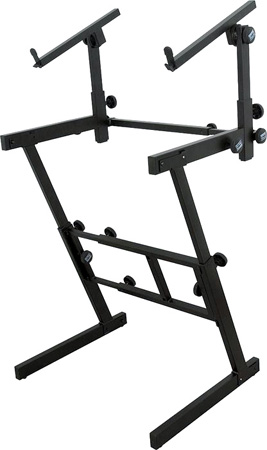 On Stage KS7365EJ Pro Heavy-Duty Folding-Z with 2nd Tier