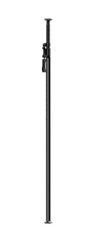 Kupo D100211 Kupole Extends from 210cm  to 370cm  - Black