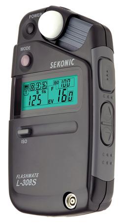 Sekonic L-308S-U FlashMate Light Meter w/LCD Display