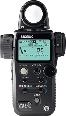Sekonic L-758DR-U Digital Master Light Meter