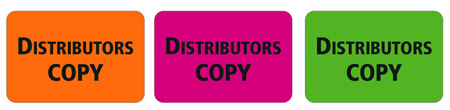 1x1.5 Warning Label 1000 Pk Hot Pink (Distributors Copy)