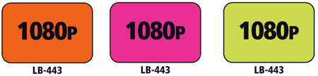 1x1.5 Warning Label 200 Pk Hot Pink (1080p)