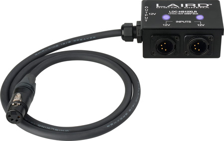 Laird LDC-HS12XLR 12-Volt Twin Input 4-Pin XLR Power Box