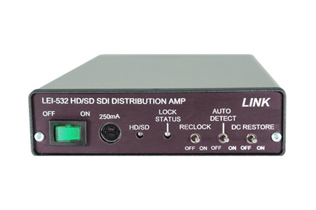 Link LEI-532 HD/SD SDI 1 x 4 Video Distribution DA