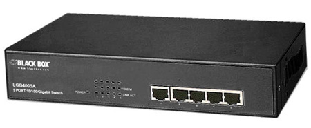 Black Box LGB4005A Gigabit 5-Port Switch