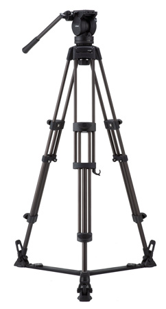 Libec LX7 Professional 2-Stage Aluminum Tripod System w/ Floor Level Spreader