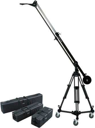Libec SWIFT JIB50 KIT JIB50 T102B and DL-8B with Carrying Cases