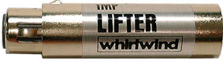Whirlwind Inline XLR Barrel Ground Lifter