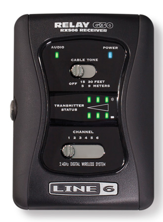 Line 6 G30-RX Separate stompbox-style 6-channel Digital Wireless Receiver