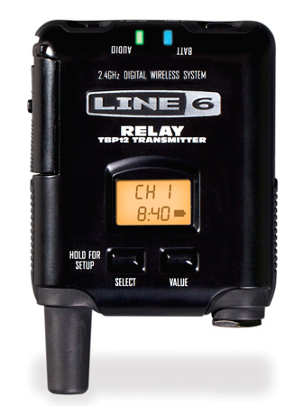 Line 6 Relay G50/G90 Bodypack 14 Channel Bodypack Digital Wireless Transmitter