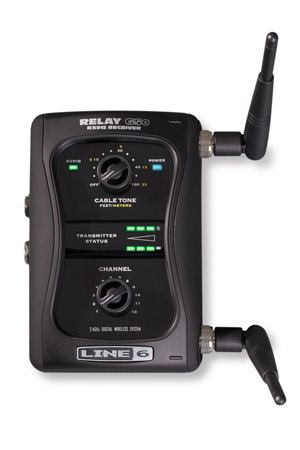 Line 6 G50-RX Stompbox-style 12-channel Digital Wireless Receiver