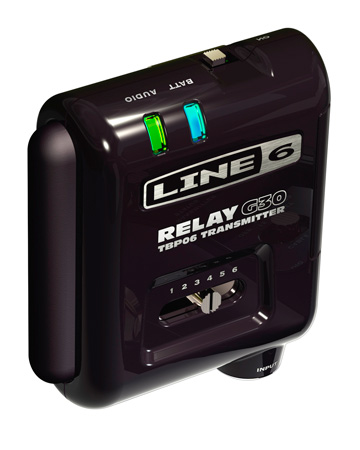 Line 6 Bodypack Separate 6-CH Bodypack Wireless Transmitter for Relay G30