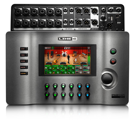 Line 6 StageScape M20D Live Sound 20-Input Smart Digital Touchscreen Mixing System
