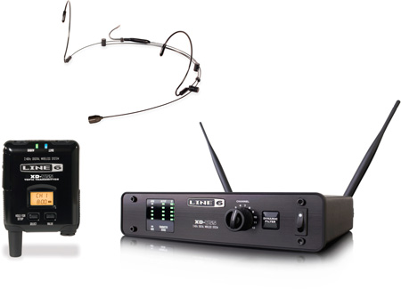 Line 6 XD-V55HS 12 channel 24GHz Digital Wireless System w/Bodypack Tx & Headset