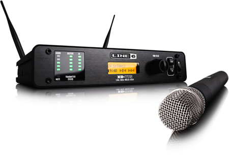Line 6 XD-V75 14 channel 24GHz Digital Wireless System w/Handheld Tx