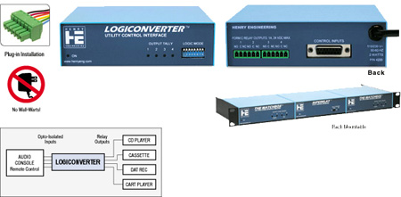 Henry Engineering LogicConverter Utility Control Logic Interface