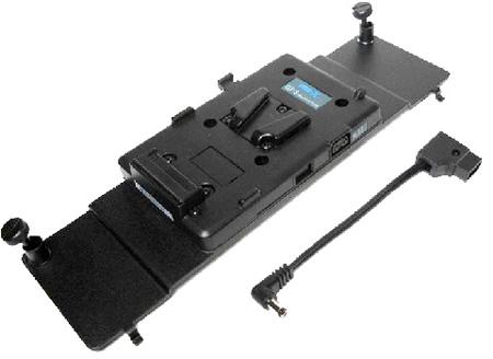 Litepanels 1DVVAP 1x1 V-Mount Battery Adapter Plate