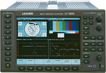 Leader LV 5800 Multi Monitor Platform