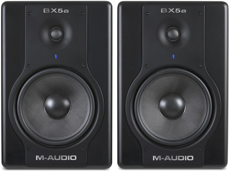 M-Audio BX5A Deluxe D2 Active Studio Monitors (Pair)