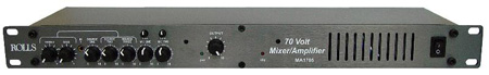 Rolls MA1705 70v Mixer Amplifier 70w