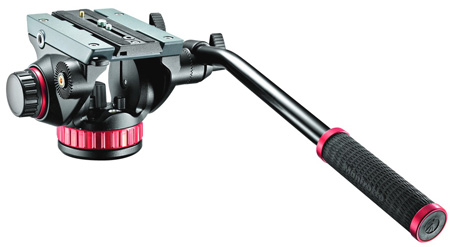 Manfrotto MVH502AH 502HD Pro Fluid Video Head Flat Base