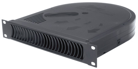 Middle Atlantic HR-QBP-1 1 Half Rack Blower Panel - 50 CFM