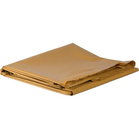 110in x 70in Markerbag - Brown 4 Mil HDPE Polyethelylene
