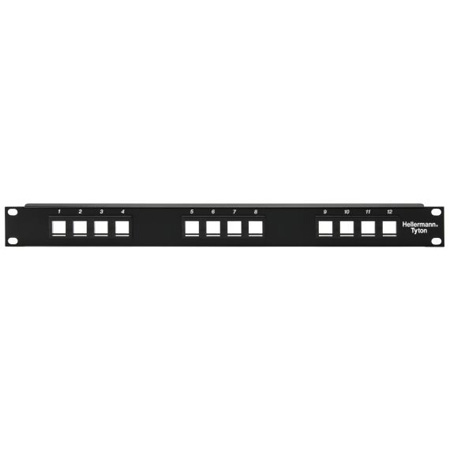 Snap-In Rack Panel-1 row of 16 ports  (1RU)