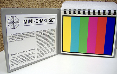 Test Chart (Set Of 3) 5.25in. x 6.5in.