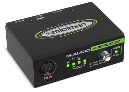M-Audio USB Midisport 2x2 PC/Mac Interface