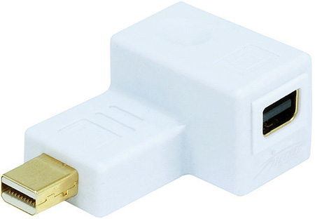 Mini DisplayPort to Mini DisplayPort 90 Degree Right Angle Port Saver