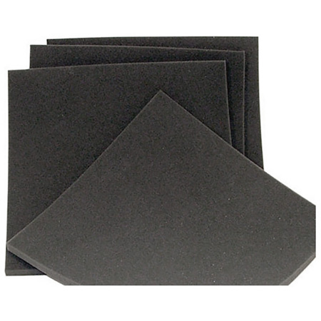 WindTech WSF-2 12in x 12in x 1/2 Inch Thick Black Wind Screen Foam